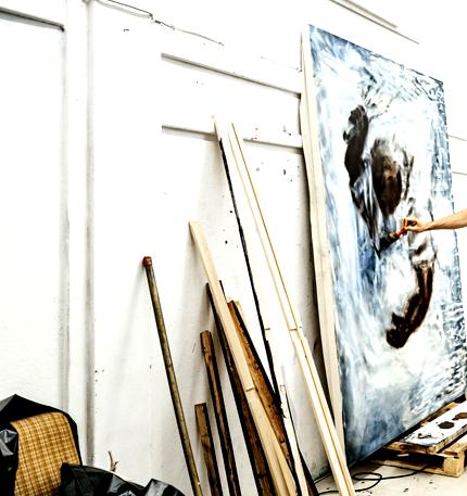 Malířský ateliér