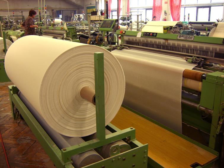 výroba plátna